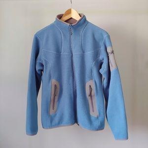 Arc'teryx Covert CardiganFleece Jacket Polartec Size Large Blue